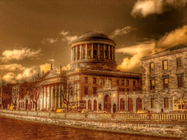 The Four Courts in Dublin, aka the Four Goldmines