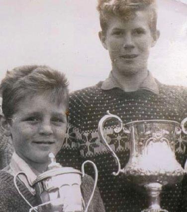 Des Smyth (left) and Declan Branigan, lifelong friends through golf