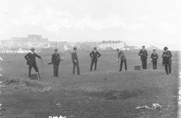 Early enthusiasts at Lahinch