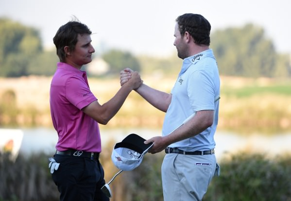 Emiliano Grillo and Branden Grace. Picture © Getty Images