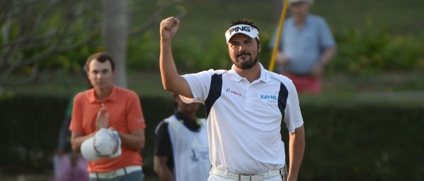 THAILAND: Daniel Chopra of Sweden won of the Asian Tour Qualifying School Final Stage at Springfield Royal Country Club in Hua Hin on January 24, 2015. Pic By Khalid Redza /  Asian Tour
