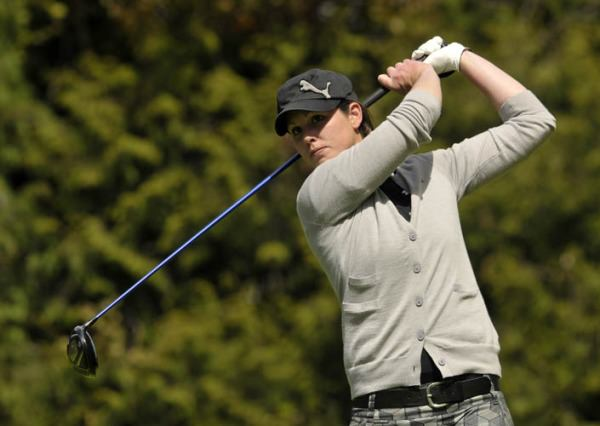 Maria Dunne (Skerries) competing in the 2013 Irish Women's Open Strokeplay Championship at the Castle. Picture by  Pat Cashman