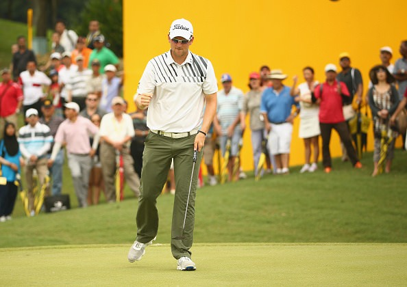 Bernd Wiesbergerhit all 18 greens and had just 27 putts in his 63. Picture ©Getty Images