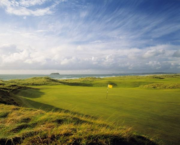 Ballyliffin Golf Club is spectacularly beautiful. Picture courtesy  Aidan Bradley Golf Course Photography