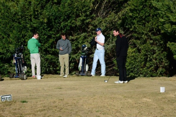 Dermot McElroy and Jack Hume at Sherry Golf. Click to expand.Picture courtesy Real Federación Española de Golf