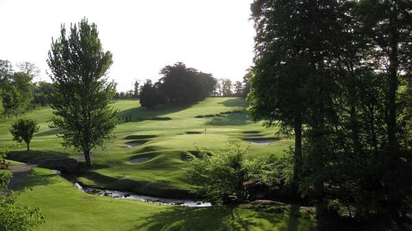 Grange Golf Club's second green and third fairway.
