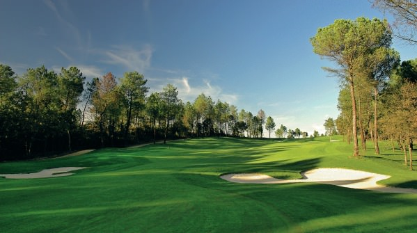 The sixth hole on the Tour Course at PGA Catalunya Resort