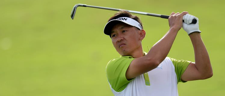 Uhno Park leads the way in Jakarta. Picture via  AsianTour.com