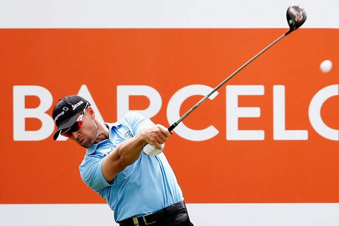 Spanish Open leader Trevor Fisher Jnr. Picture© Getty Images