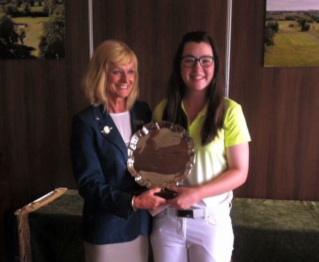 Ciara Casey, 2015 Leinster Girls champion