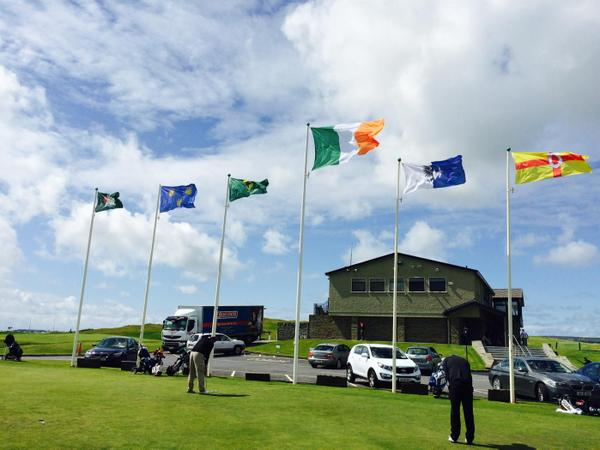 Lahinch at 3pm on day one of the 2015 South of Ireland Amateur Open