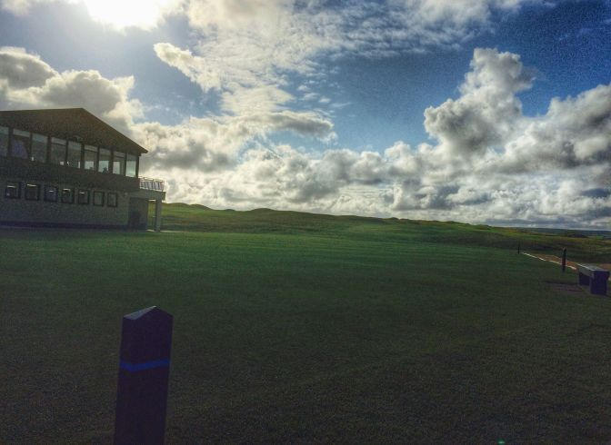 Lahinch in the late afternoon on day one