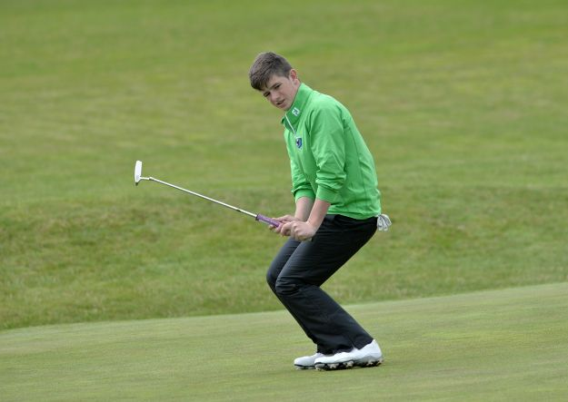 Paddy Culhane (Connacht) in action on the final day of the Interpros in Athlone. Picture:  Pat Cashman