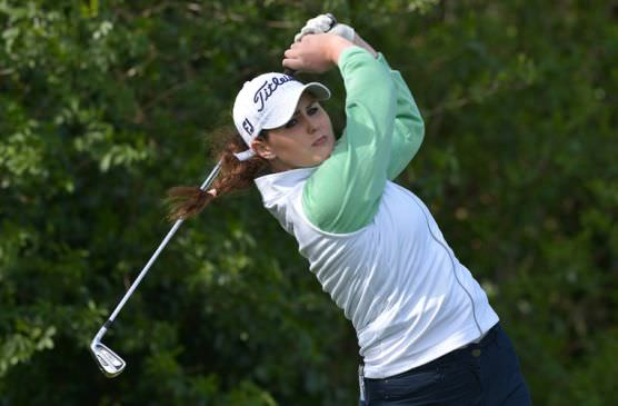 Olivia Mehaffey has won four matches out of four for Ireland in the Girls' Home Internationals. Picture:  Pat Cashman