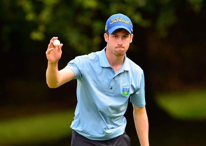 Alex Gleeson (Castle / UCD) winning the Irish Youths Open & Irish Colleges Invitational Championship earlier this year..Picture by  Pat Cashman
