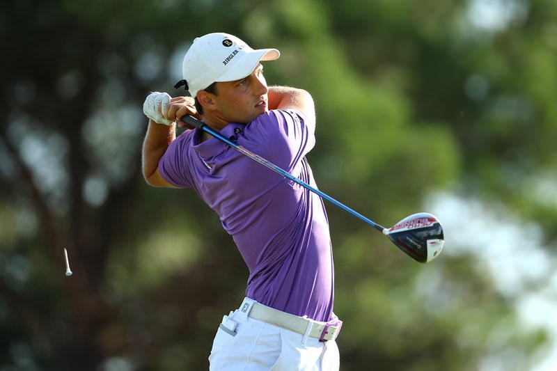 Lukas Nemecz looks good at Q School's halfway point. Picture: Getty Images