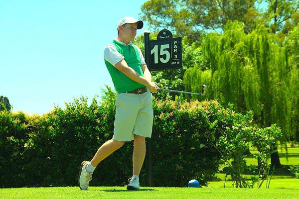 Geoff Lenehan in action at Tortugas Country Club