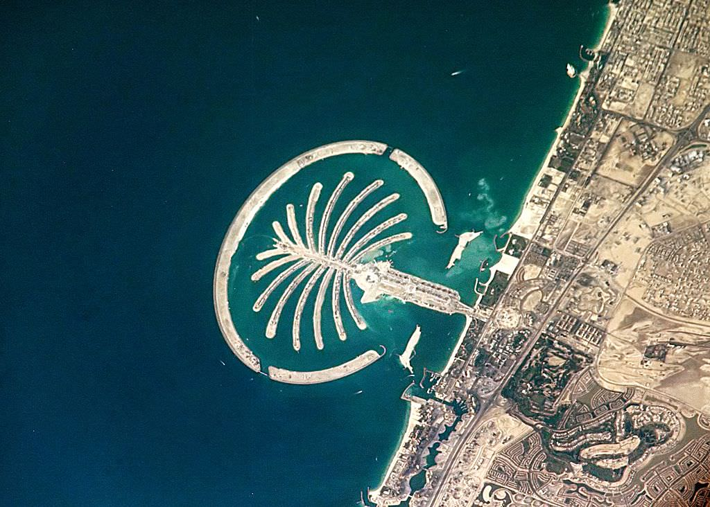 The Palm in Dubai, residence of Rory McIlroy Management Services' sole shareholder.
