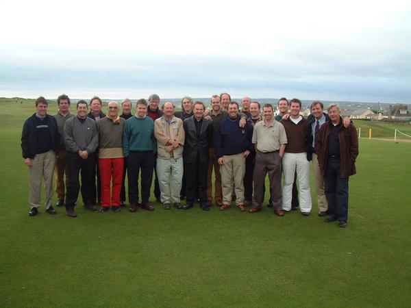 A gathering of the European Institute of Golf Course Architects in Lahinch