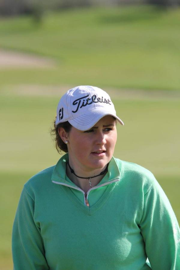 Olivia Mehaffey, pictured during the Portuguese International Ladies Amateur Championship.