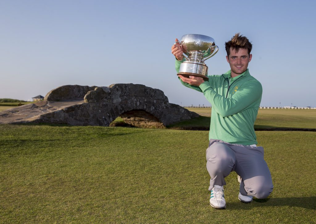 Conor O'Rourke. Picture: St Andrews Links Trust