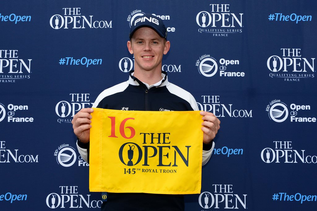 Brandon Stone qualifies for The 145th Open at Royal Troon at the 100th Open de France.Credit:The R&A.