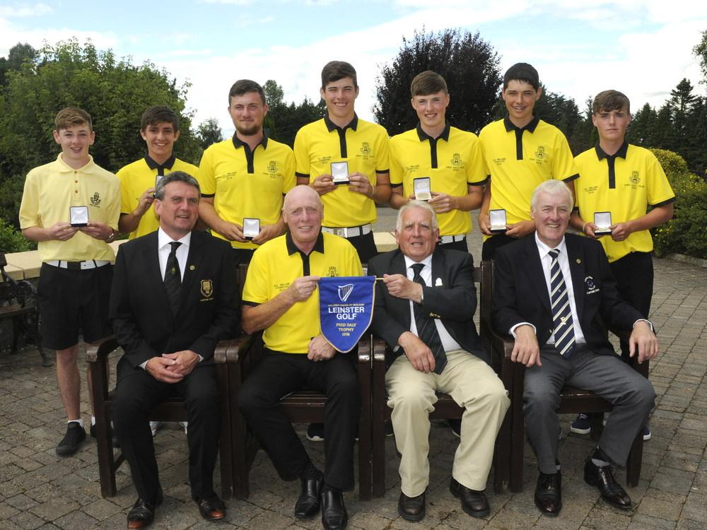 Fred Daly Trophy Final at Royal Tara Golf Club