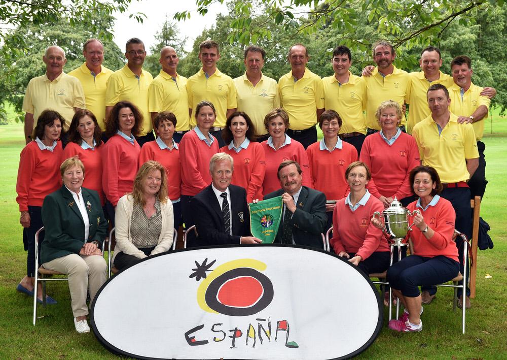 2016 I Need Spain Irish Mixed Foursomes All Ireland Finals at Sh