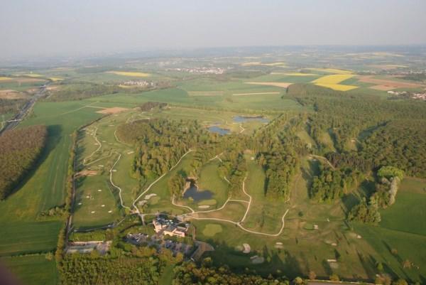 Golf Château de Preisch on the France-Belgium border.