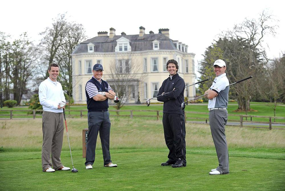 Gareth Shaw, Michael McGeady, Richard Kilpatrick and Colm Moriarty at Moyvalley back in April 2009.Picture: Matt Browne / SPORTSFILE