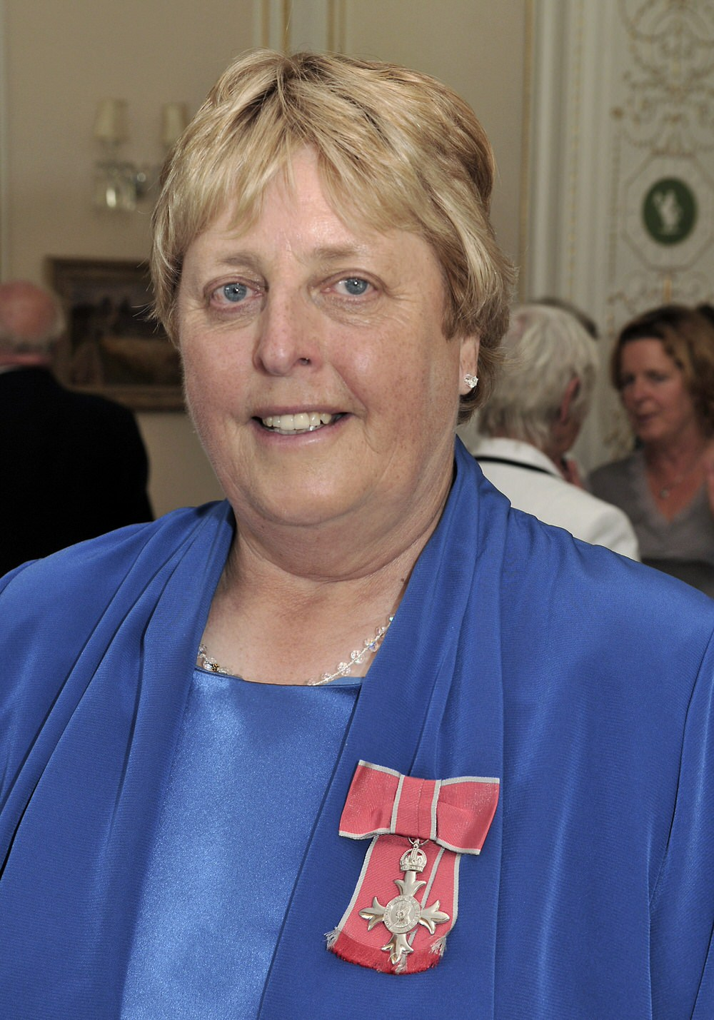 Mary McKenna with her MBE