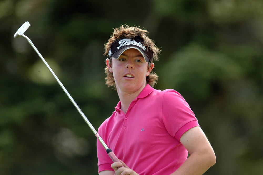 Rory McIlroy in 2005. Picture: Pat Cashman