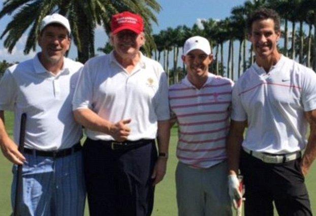 McIlroy and Trump