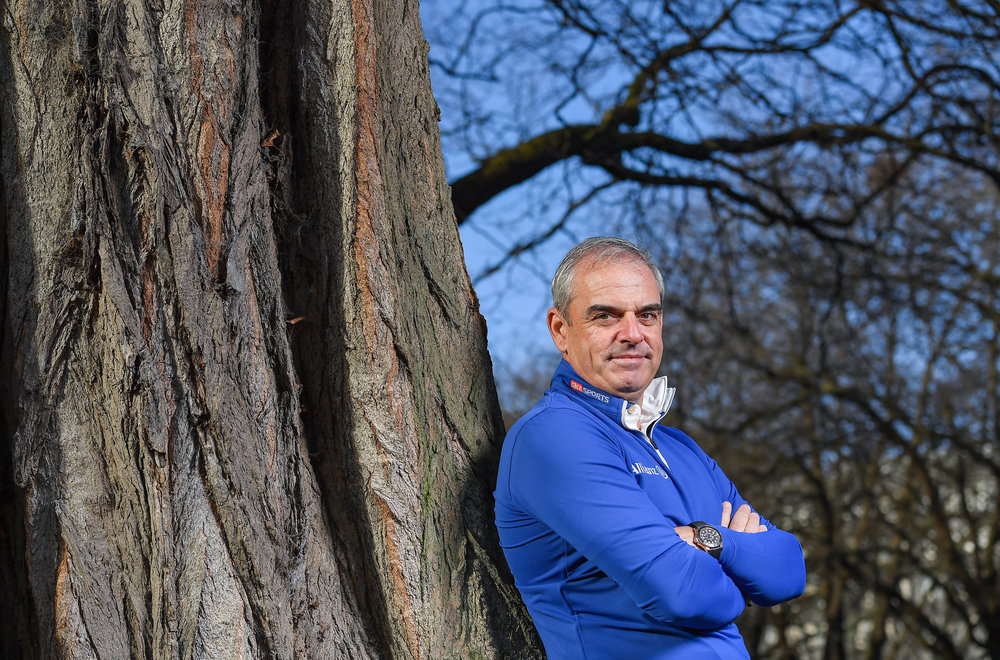 1 March 2017; Paul McGinley leads Sky Sports' coverage of the US Masters 2017.Photo by Brendan Moran/Sportsfile