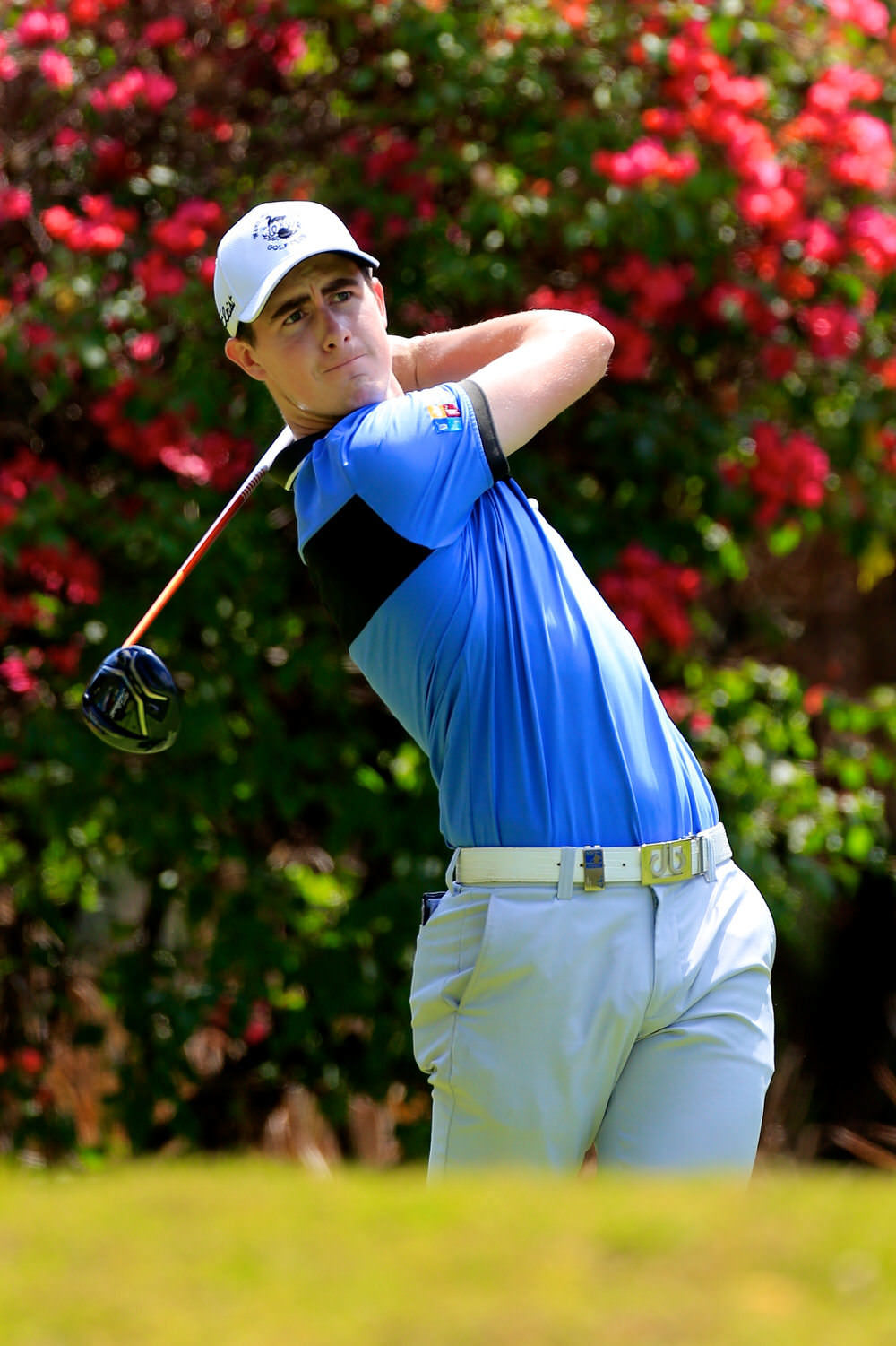Gary Hurley (IRE) during the third round of the of the Barclays Kenya Open. 25/03/2017 Picture: Golffile | Phil Inglis