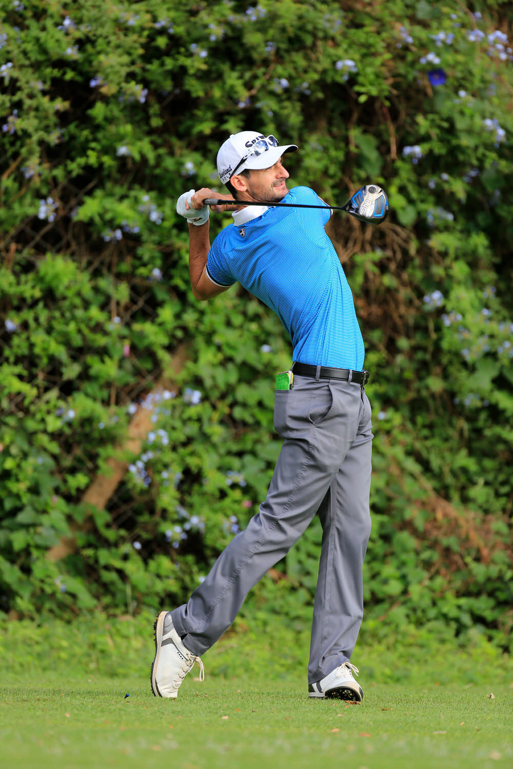 Chris Selfridge (NIR) during the second round of the Barclays Kenya Open played at Muthaiga Golf Club, Nairobi, 24 March 2017.Picture:  Golffile  | Phil Inglis