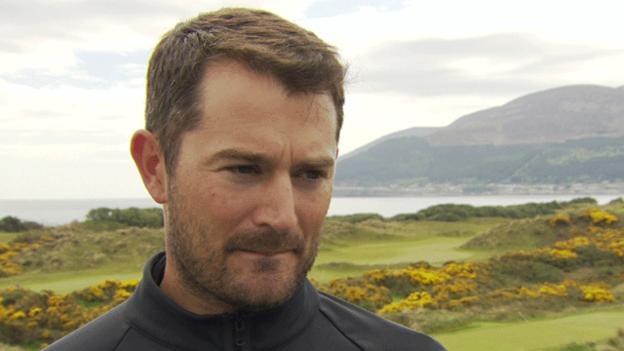 Gareth Maybin. Image/BBC