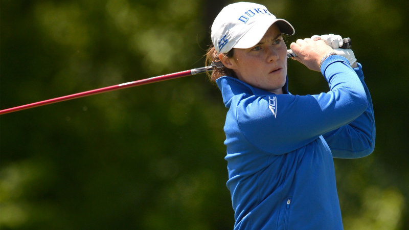 Leona Maguire. Picture:Tim Cowie