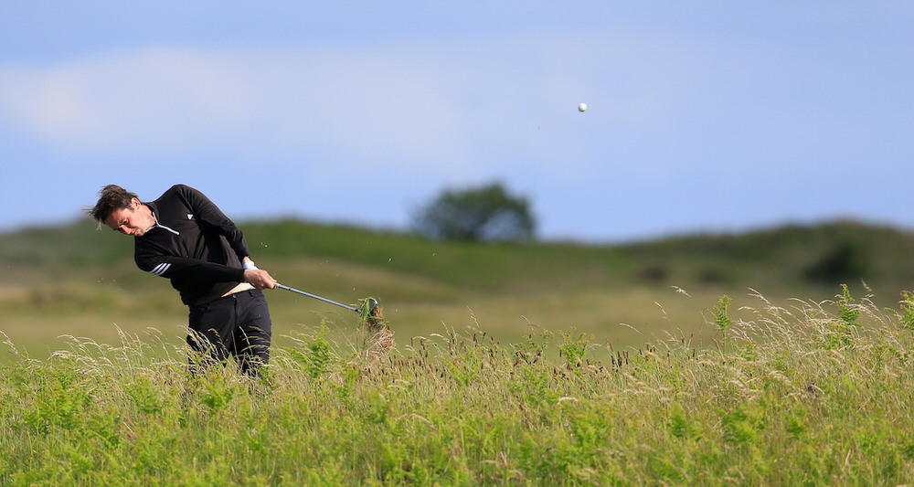Colin Woodroofe (Dun Laoghaire) during the 2nd round of the East of Ireland Championship, Co Louth Golf Club, Baltray, Co Louth, Ireland. 03/06/2017 Picture: Golffile | Fran Caffrey