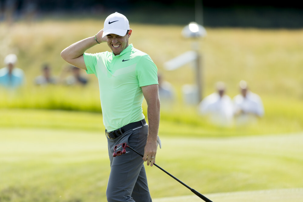Rory McIlroy during the first round of the 2017 U.S. Open at Erin Hills in Erin, Wis. on Thursday, June 15, 2017. (Copyright USGA/John Gress)