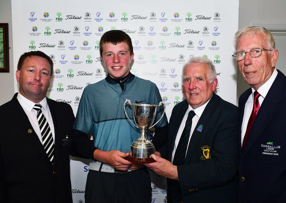2017 Leinster Boys (Under 14) Amateur Open Championship at Corba