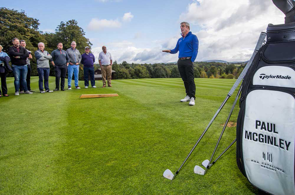 Paul McGinley at the newly redesigned Paul McGinley Golf Academy at Mount Juliet Estate.Picture: ©INPHO/Morgan Treacy