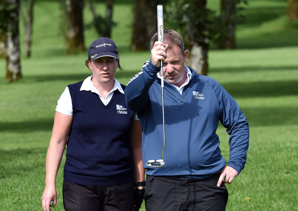 Martin Hynes and Aileen Mangan (Athenry)