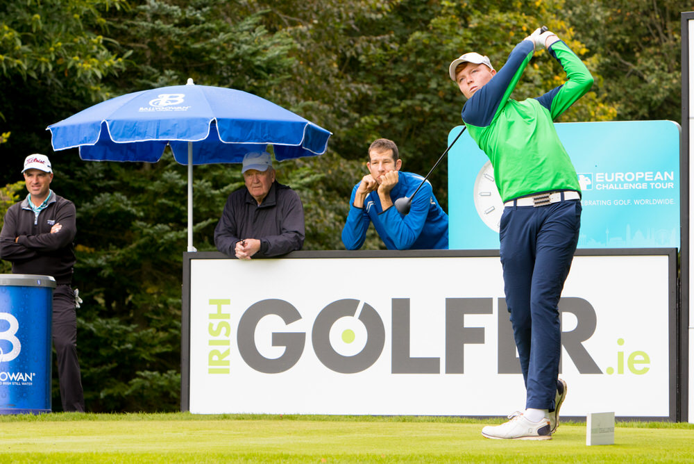 Tramore amateur Robin Dawson in action during the recent Irish Challenge at Mount Wolseley. Picture courtesy,  Jimmy Penrose
