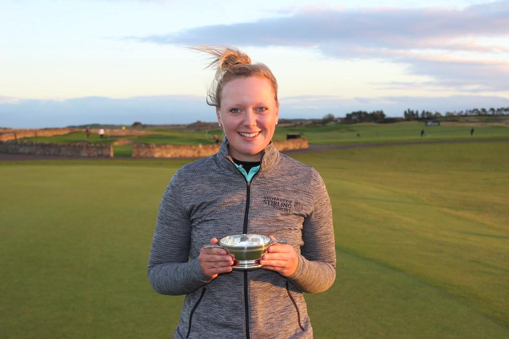Stirling's Chloe Goadby.Credit: Cal Carson Golf Agency