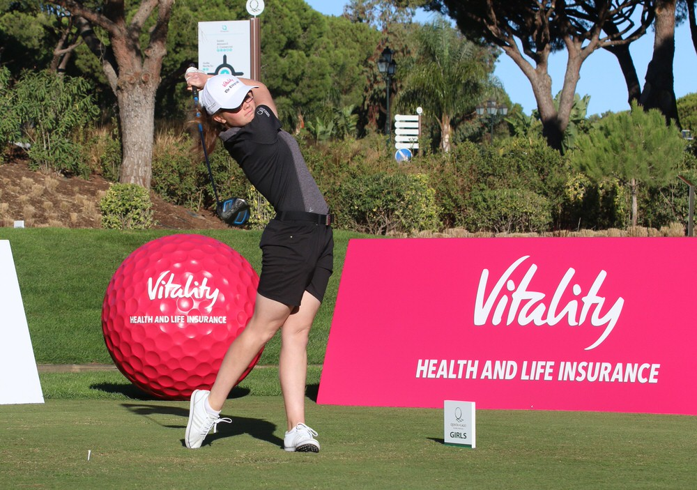 Annabel Wilson in action at Quinta do Lago. Picture courtesy Gary Prior