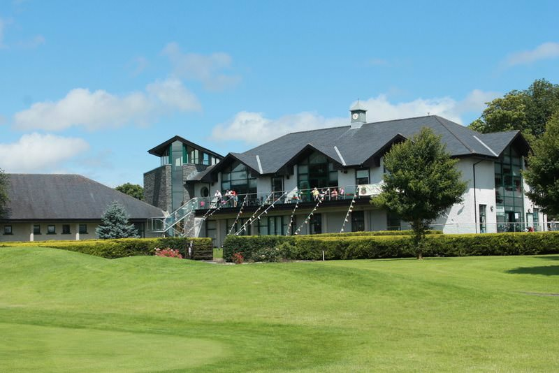 The clubhouse at Corrstown