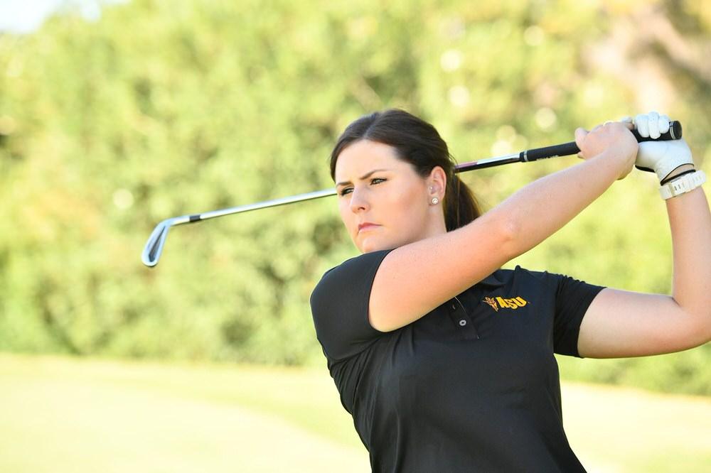 Arizona State's Olivia Mehaffey