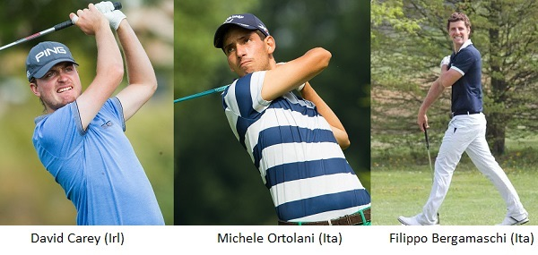 David Carey and Italians Michele Ortolani and Filippo Bergamaschi started well in Egypt. Picture:  Alps Tour
