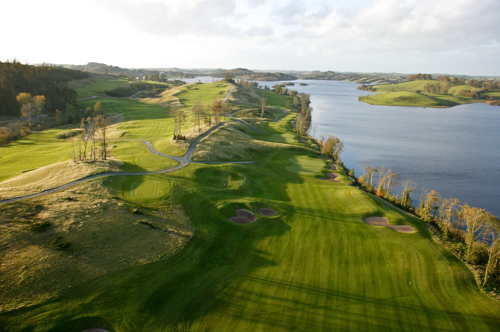 The verdant fairways of Concra Wood in Co Monaghan